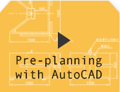 Pre-planning with AutoCAD